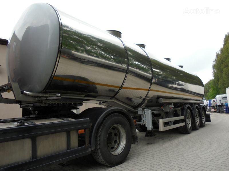 BODEX CO 3202 food tank trailer