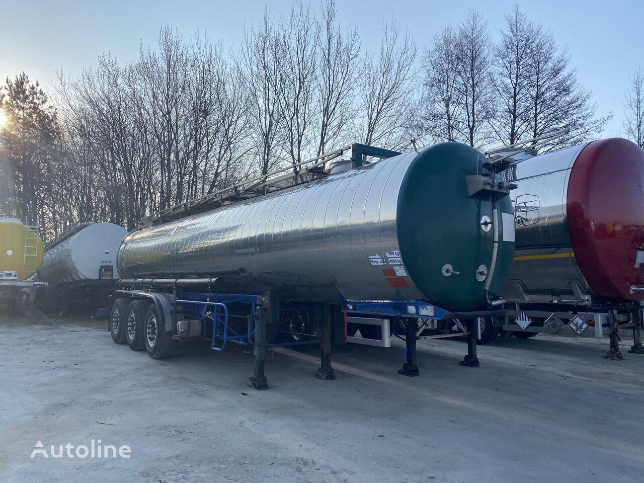 MAISONNEUVE 22500l/1 komora food tank trailer