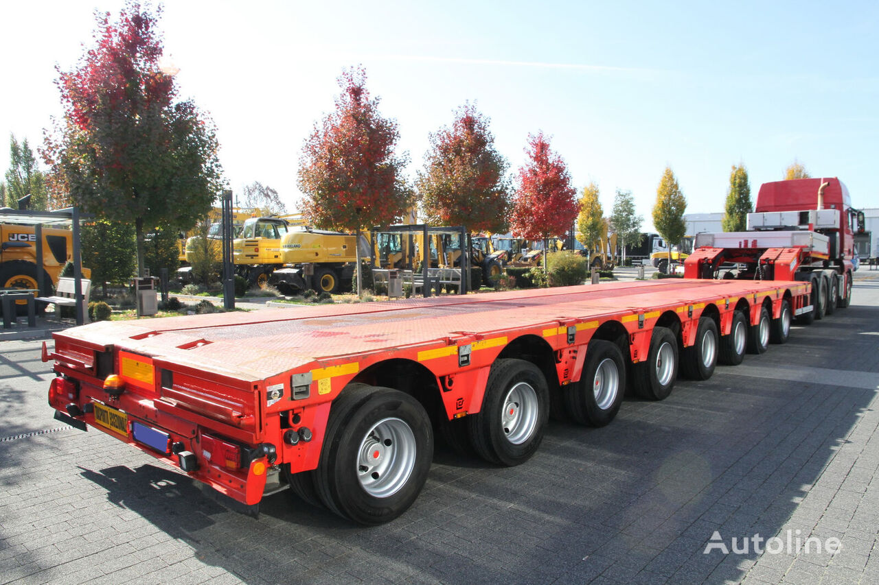 COMETTO X84AH/3000 STEERING low bed semi-trailer