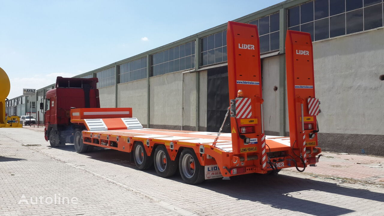 new LIDER 2019 low bed semi-trailer