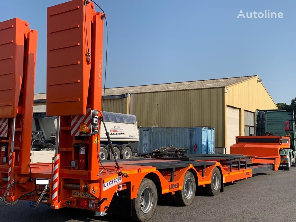 new LIDER 2020 YEAR NEW LOWBED TRAILER FOR SALE (MANUFACTURER COMPANY) low bed semi-trailer