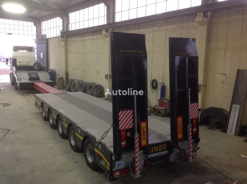 new LIDER NEW 2020 model new by manufacturer Lider Trailer low bed semi-trailer