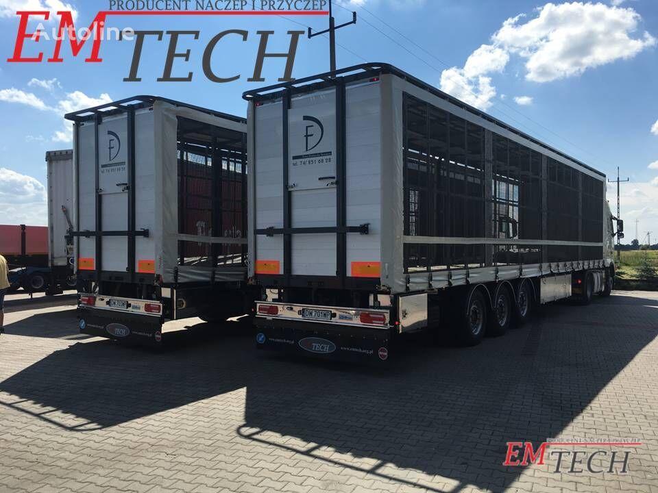 new EMTECH Naczepa do przewozu drobiu 3 osiowa poultry semi-trailer