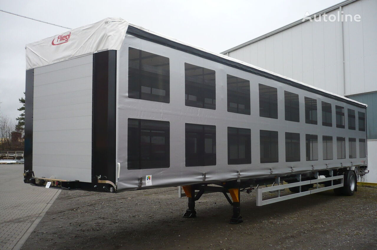 new FLIEGL SDS 350 pticevoz poultry semi-trailer