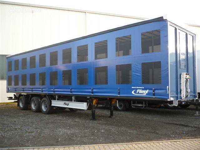new FLIEGL SDS 350 pticevoz poultry semi-trailer