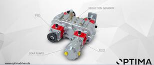 new OPTIMA PTO for MERCEDES-BENZ Volvo, Scania truck