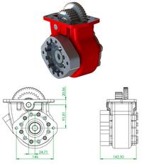 new OPTIMA Allison type (Parker Chelsea) PTO for tractor unit