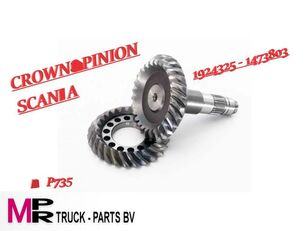 new SCANIA RBP735 reductie 3,67 1924325-1473803 (1924325-1473803) differential for truck