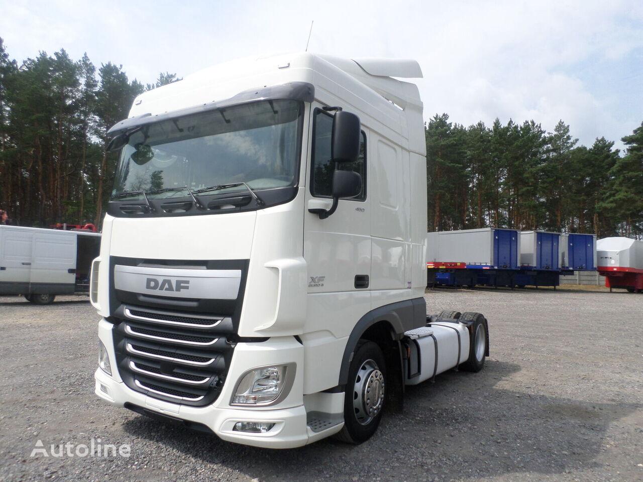DAF XF 106 460 * EURO 6 * SPACE CAB * AUTOMAT * LOW DECK * MEGA tractor unit