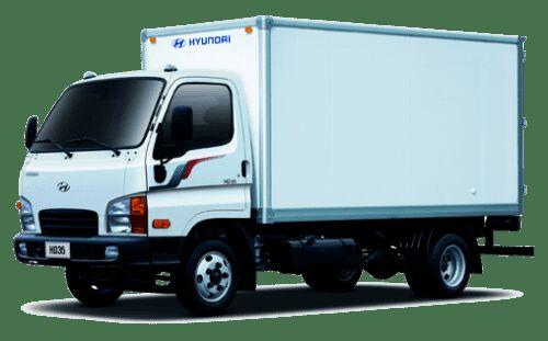 new HYUNDAI HD 35 box truck