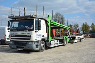 DAF CF 360 car transporter + car transporter trailer