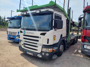SCANIA P340  car transporter
