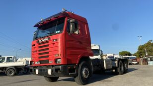 SCANIA 143 500 retarder chassis truck