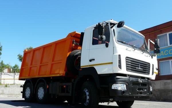 new MAZ 6501S5-584-000 dump truck