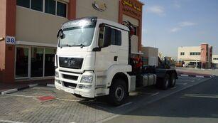 MAN TGS 26.440 6×4 Hook Loader + ATLAS 165 Crane 2011 hook lift truck