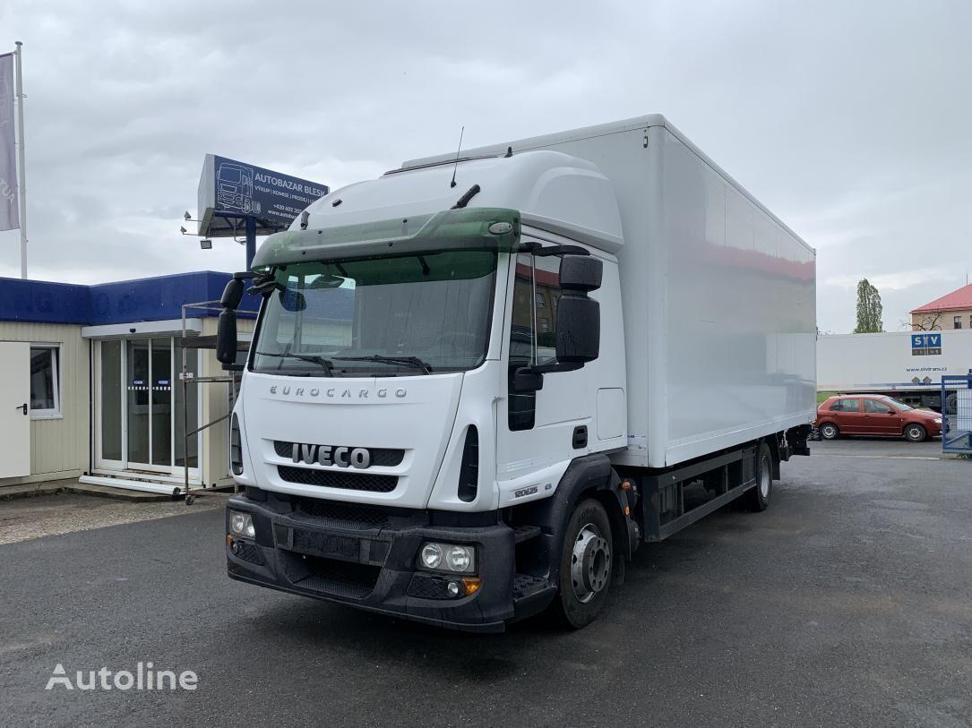 IVECO ML120E25 Čelo E5 isothermal truck