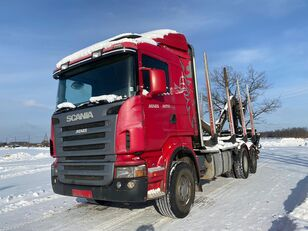 SCANIA R-420 timber truck