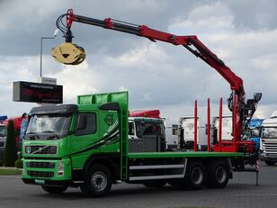 VOLVO FM 440 / 6X4 / TIMBER CARRIER / L: 6,1 M / CRANE KESLA 2114Z / F timber truck